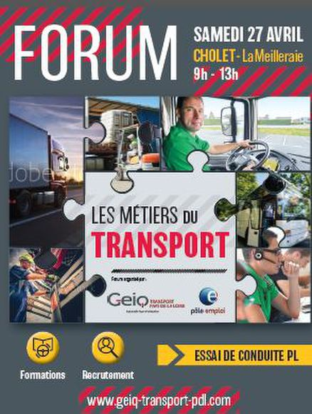 FORUM METIERS DU TRANSPORT 27.04.2019